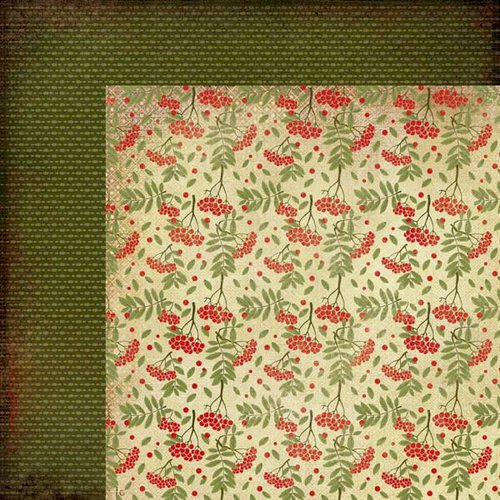 Kaisercraft - Twig and Berry Collection - Christmas - 12 x 12 Double Sided Paper - Advent