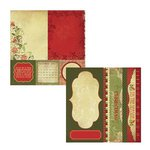 Kaisercraft - Twig and Berry Collection - Christmas - 12 x 12 Double Sided Paper - Three Kings