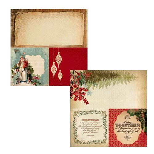 Kaisercraft - Turtle Dove Collection - Christmas - 12 x 12 Double Sided Paper - Drummers