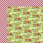 Kaisercraft - Mint Twist Collection - Christmas - 12 x 12 Double Sided Paper - Rudolph