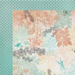 Kaisercraft - Periwinkle Collection - 12 x 12 Double Sided Paper - Whisper
