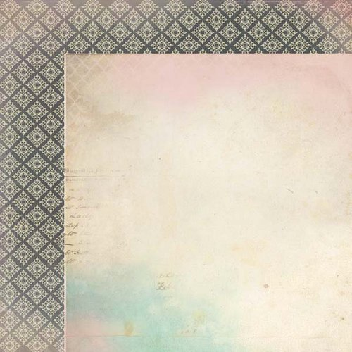 Kaisercraft - Periwinkle Collection - 12 x 12 Double Sided Paper - Dawn