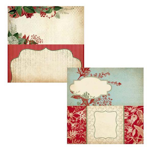 Kaisercraft - Just Believe Collection - Christmas - 12 x 12 Double Sided Paper - Glisten