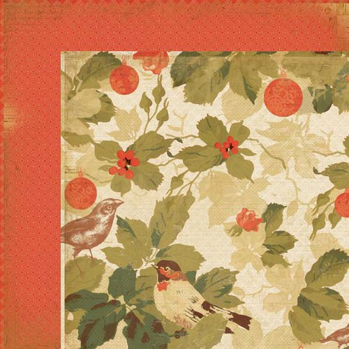 Kaisercraft - Merry and Bright Collection - Christmas - 12 x 12 Double Sided Paper - Vivacious