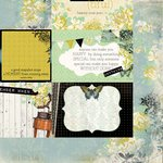 Kaisercraft - Pickled Pear Collection - 12 x 12 Double Sided Paper - Quince
