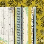 Kaisercraft - Pickled Pear Collection - 12 x 12 Double Sided Paper - Thyme