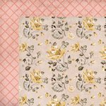 Kaisercraft - Forget-Me-Not Collection - 12 x 12 Double Sided Paper - Honeysuckle