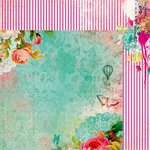 Kaisercraft - Secret Admirer Collection - 12 x 12 Double Sided Paper - Mystical