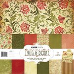 Kaisercraft - Twig and Berry Collection - Christmas - 12 x 12 Paper Pack