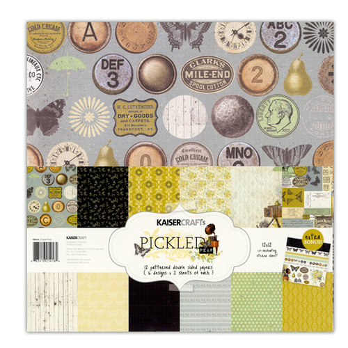 Kaisercraft - Pickled Pear Collection - 12 x 12 Paper Pack