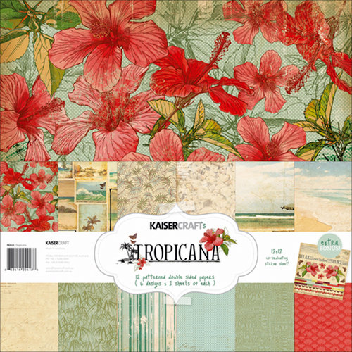 Kaisercraft - Tropicana Collection - 12 x 12 Paper Pack