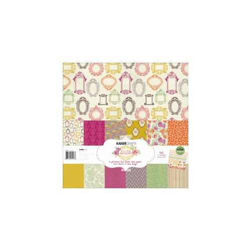 Kaisercraft - Flora Delight Collection - 12 x 12 Paper Pack