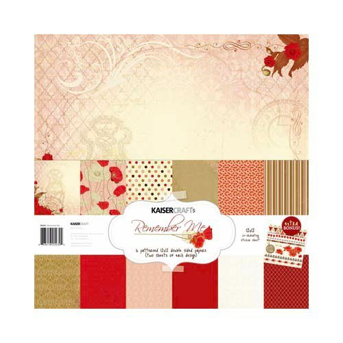 Kaisercraft - Remember Me Collection - 12 x 12 Paper Pack