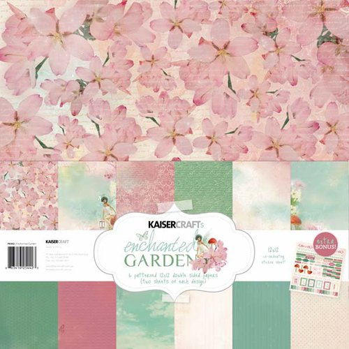 Kaisercraft - Enchanted Garden Collection - 12 x 12 Paper Pack