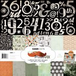 Kaisercraft - Mister Fox Collection - 12 x 12 Paper Pack