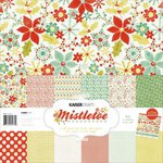 Kaisercraft - Mistletoe Collection - Christmas - 12 x 12 Paper Pack