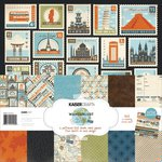 Kaisercraft - Wanderlust Collection - 12 x 12 Paper Pack