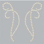 Kaisercraft - Pearl Flourishes - Bling - Decorative - Latte
