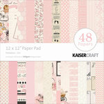 Kaisercraft - Peekaboo Collection - 12 x 12 Paper Pad - Girl