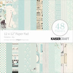Kaisercraft - Peekaboo Collection - 12 x 12 Paper Pad - Boy