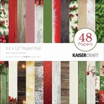Kaisercraft - Basecoat Christmas Collection - 12 x 12 Paper Pad