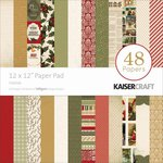 Kaisercraft - Yuletide Collection - Christmas - 12 x 12 Paper Pad