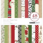 Kaisercraft - Home for Christmas Collection - 12 x 12 Paper Pad