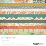 Kaisercraft - Lush Collection - 6 x 6 Paper Pad, CLEARANCE