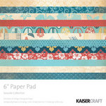 Kaisercraft - Seaside Collection - 6 x 6 Paper Pad