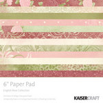Kaisercraft - English Rose Collection - 6 x 6 Paper Pad, BRAND NEW