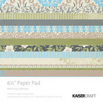 Kaisercraft - Blae and Ivy Collection - 6.5 x 6.5 Paper Pad