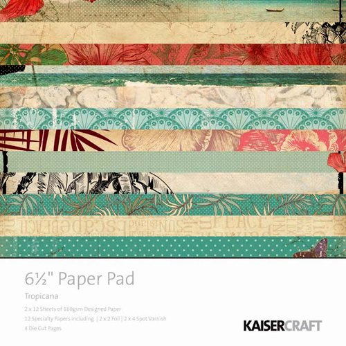 Kaisercraft - Tropicana Collection - 6.5 x 6.5 Paper Pad