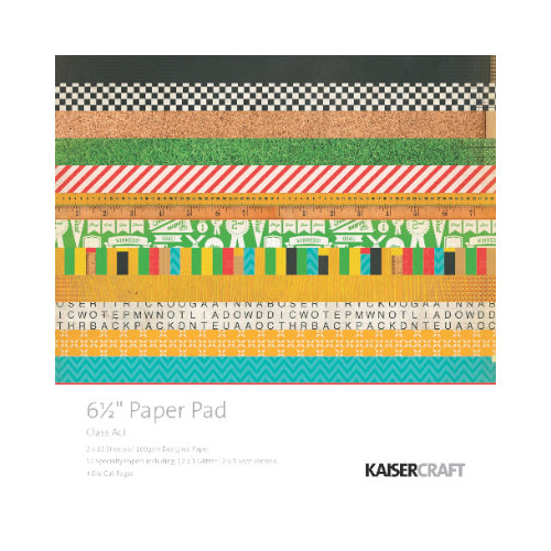 Kaisercraft - Class Act Collection - 6.5 x 6.5 Paper Pad