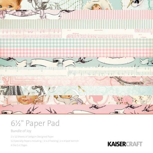 Kaisercraft - Bundle of Joy Collection - 6.5 x 6.5 Paper Pad