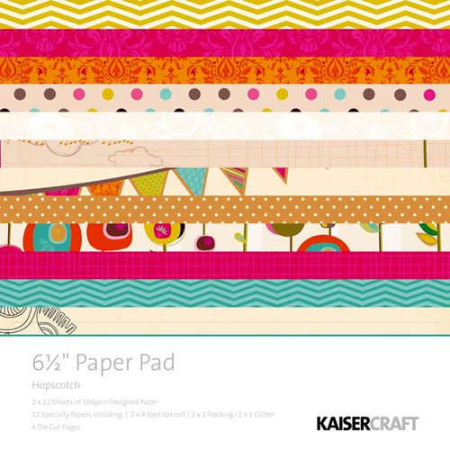Kaisercraft - Hopscotch Collection - 6.5 x 6.5 Paper Pad