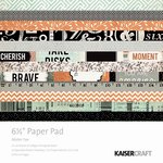 Kaisercraft - Mister Fox Collection - 6.5 x 6.5 Paper Pad