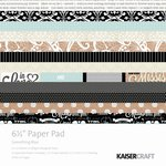 Kaisercraft - Something Blue Collection - 6.5 x 6.5 Paper Pad