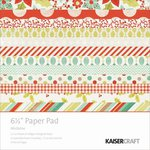 Kaisercraft - Mistletoe Collection - Christmas - 6.5 x 6.5 Paper Pad