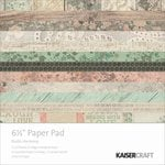 Kaisercraft - Rustic Harmony Collection - 6.5 x 6.5 Paper Pad