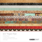 Kaisercraft - Antique Bazaar Collection - 6.5 x 6.5 Paper Pad