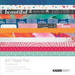 Kaisercraft - Chase Rainbows Collection - 6.5 x 6.5 Paper Pad