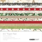 Kaisercraft - Home for Christmas Collection - 6.5 x 6.5 Paper Pad