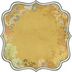 Kaisercraft - Lush Collection - 12 x 12 Die Cut Paper - Willow