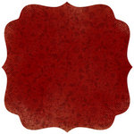 Kaisercraft - Velvet Ensemble Collection - 12 x 12 Die Cut Paper with Varnish Accents - Balcony