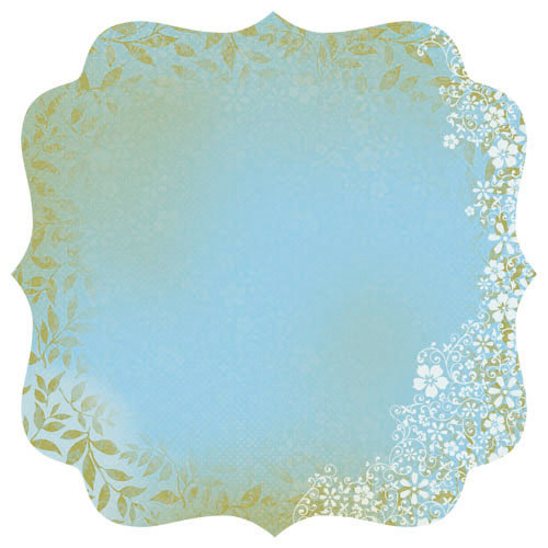 Kaisercraft - Blae and Ivy Collection - 12 x 12 Die Cut Paper - Odyssey