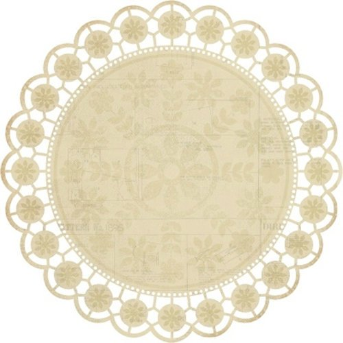 Kaisercraft - Madame Boutique Collection - 12 x 12 Die Cut Paper - Lace