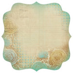 Kaisercraft - Madame Boutique Collection - 12 x 12 Die Cut Paper - Gown