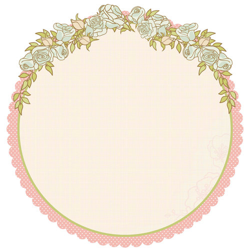 Kaisercraft - Lil' Primrose Collection - 12 x 12 Die Cut Paper - Fabulous