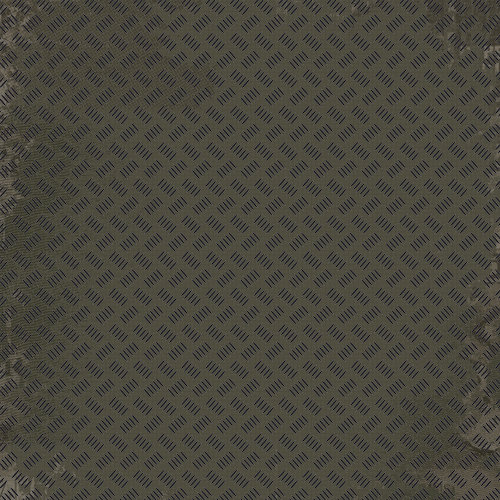 Kaisercraft - Attitude! Collection - 12 x 12 Embossed Paper - Industrial