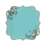 Kaisercraft - Botanical Odyssey - 12 x 12 Die Cut Paper with Varnish Accents - Lattice